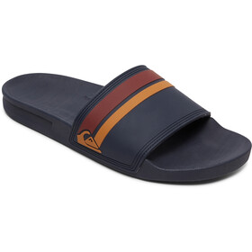 Quiksilver Rivi Slide Sandals Men blue/brown/blue